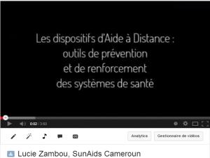 Lucie Zambou  SunAids Cameroun   YouTube
